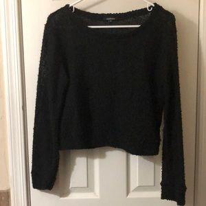 Light fuzzy sweater
